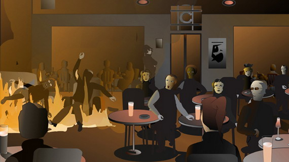 Nightclub - Click to Return to Gallery