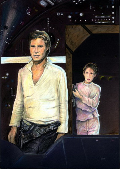 Han & Leia - Click to Return to Gallery