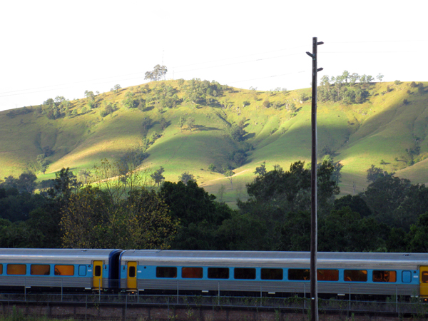 The Dungog Train - Click to Return to Gallery