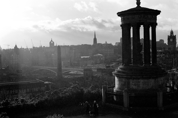 Dawn in Edinburgh - Click to Return to Gallery
