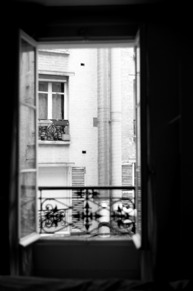 Paris Window - Click to Return to Gallery