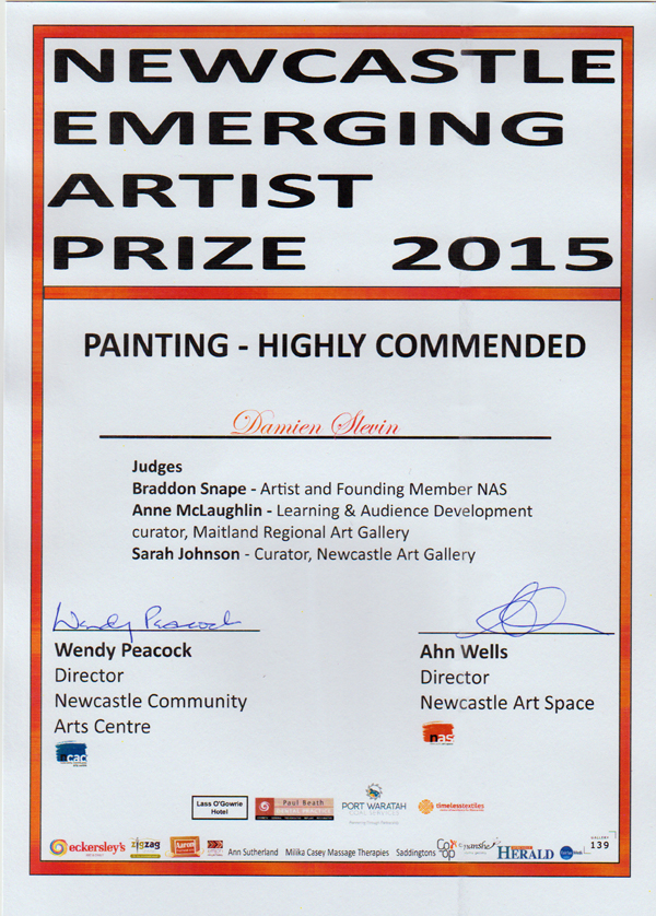 Newcastle Emerging Artist Prize