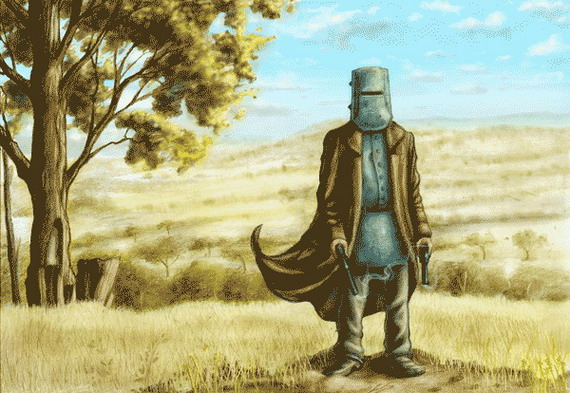 Ned Kelly - Click to Return to Gallery