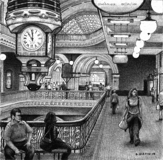 Queen Victoria Building - Click to Return to Gallery