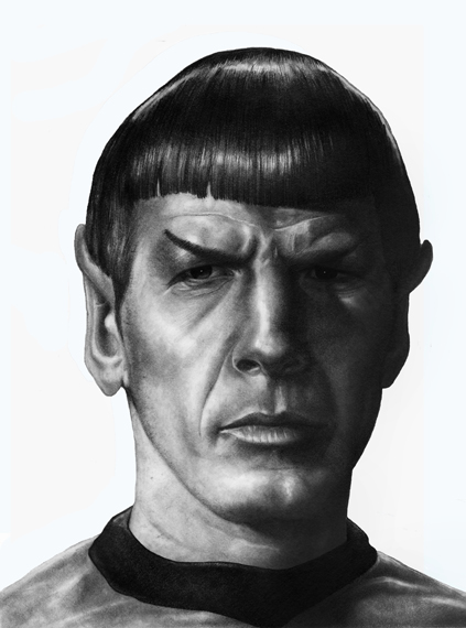 Mr Spock - Click to Return to Gallery