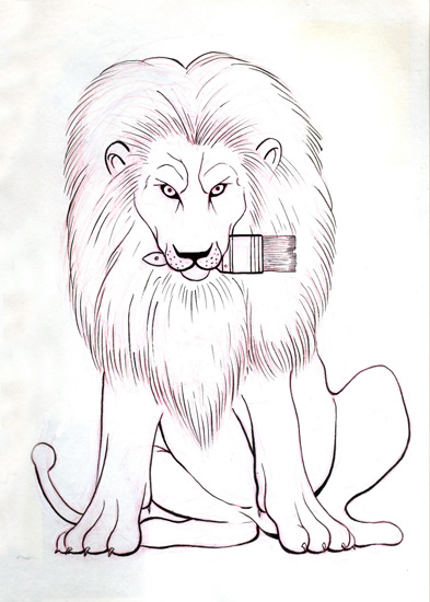 Lion Masscot - Click to Return to Gallery