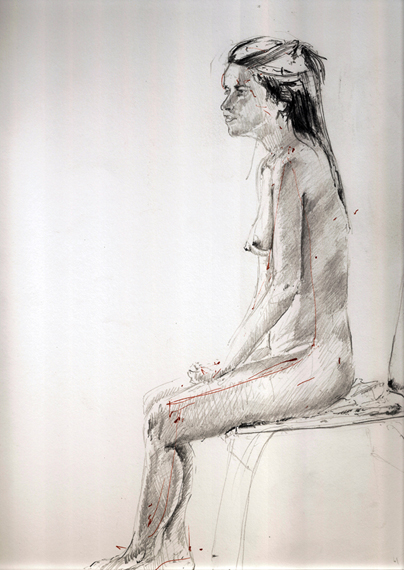 Seated Woman - Click to Return to Gallery